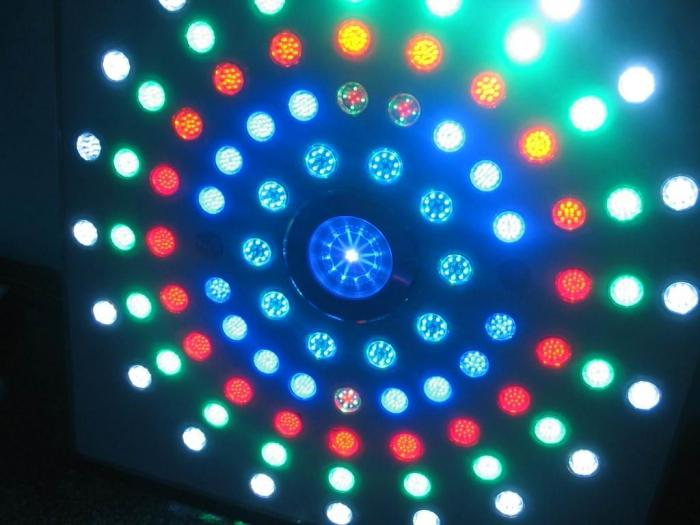 LED gauss lambası